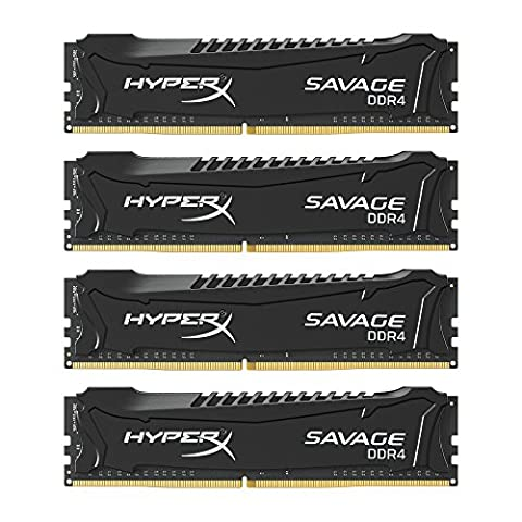 HyperX Savage HX430C15SB2K4/32 Arbeitsspeicher 32GB 3000MHz DDR4 CL15 DIMM Kit (4x8GB) XMP