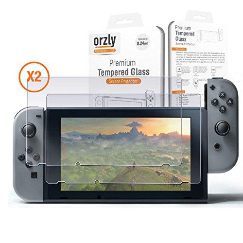 Protector-de-Pantalla-para-la-Nintendo-Switch-Protector-de-Pantalla-de-Prima-de-Cristal-Templado-de-Orzly-Pack-de-DOS-para-la-Pantalla-de-62-pulgadas-de-la-Nintendo-Switch