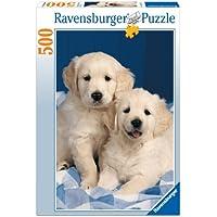 Ravensburger 14238 Cuccioli di Golden Retriever Puzzle 500 pezzi