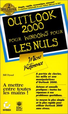 Outlook 2000 pour windows pour les nuls