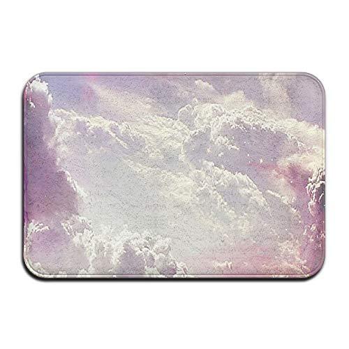 Klotr Fußabtreter, Home Door Mat Cloud Sky Nature Doormat Door Mats Entrance Rugs Anti Slip 40x60 cm for Indoor Outdoor