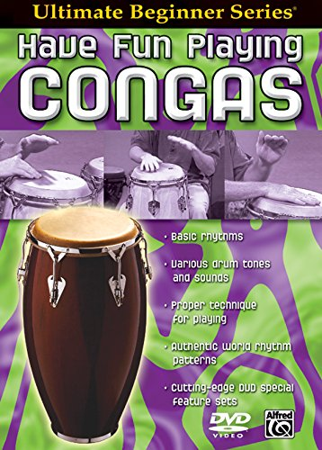 Ultimate Beginner Series: Have Fun Playing Congas (DVD) [UK Import]