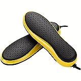 QFFL Innensohle Form Schuhe Trockner 2 Kernheizung Warme Schuhe Winter Backen Schuhe Maschine (19,5 * 6,5 cm) Schuhtrockner