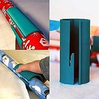 Geschenkpapier Cutter Schiebe,Holeider Papierschneider, Geschenkpapier Clips Schneider Werkzeug Schneidewerkzeuge, Geschenkpapierschneider, Geschenkpapier Papierschneider (15CM)
