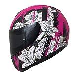MT Thunder Wild Garden Helm Motorrad matt Cherry, farblos
