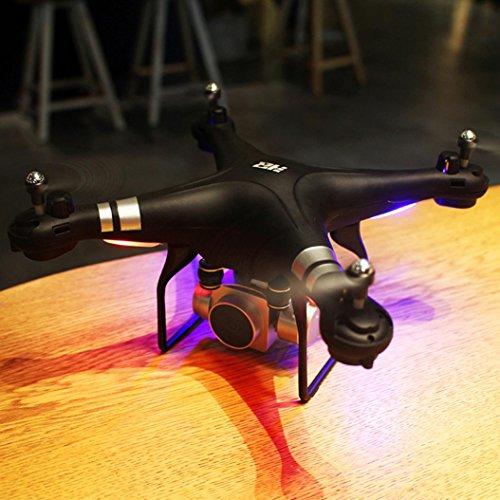 WYXlink RC Quadcopter 1080p Weitwinkel-Objektiv 270 Grad rotierende HD-Kamera Drohne FPV Geschenk (Schwarz) - 5