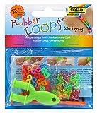 folia 33809 - Rubber Loops Werkzeug, inklusive S - Klipse, 50 farbig sortiert