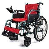 Elektro-Rollstuhl, Elektro-Rollstuhl Leistung Walker Rollstuhl Leichtklapp tragbare Reise-Mobilitätshilfen Ausrüstung Rollstühle Walker -