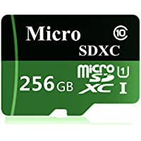 Generic Carte Micro SD 256Go Class 10Carte mémoire + Adaptateur (D47-blh256S1)