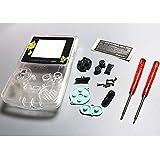Xinkaize High Quality New Pikachu Clear Shell Case Housing&Screen para Nintendo Game Boy Color GBC Repair