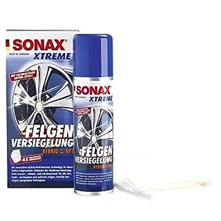 SONAX 236100 XTREME Felgen Versiegelung NanoPro, 250ml inkl. 4 Poliervliesen