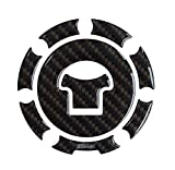 Tankdeckel-Pad 3D 600013 Carbon Braun Tank-Schutz passend für Honda-Tank