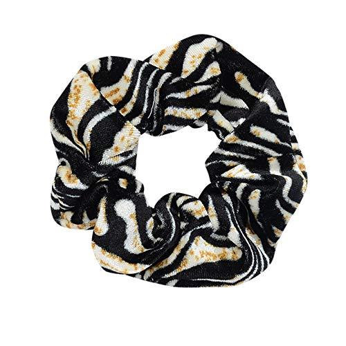 MIRRAY Frauen Elastisches Haar Seil Ring Krawatte Scrunchie Sport Pferdeschwanz Inhaber Haarband Stirnband Damen Sommer Sport Mehrfarben-D - Jordan Hut Stricken