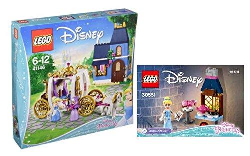 Lego Disney® Cinderella Set - 41146 Cinderellas zauberhafter Abend + 30551 Cinderellas Küche im Beutel