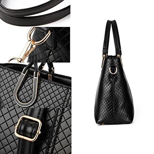 FavoMode, Borsa a mano donna rosso Burgundy Handbag taglia unica Burgundy Handbag