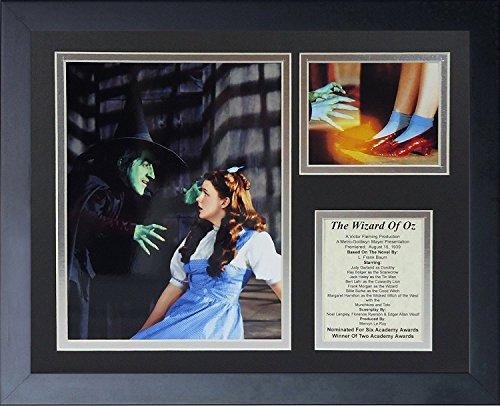 Legenden Sterben Nie Wizard of Oz Hexe gerahmtes Foto Collage, 11von 35,6cm