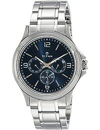 Titan Analog Blue Dial Men's Watch-NK1698SM02