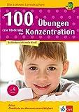 Klett 100 Übungen zur Förderung der Konzentration: Vorschule, ab 5 Jahren (Die kleinen Lerndrachen)