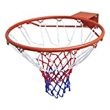 vidaXL HangRing Basketball Basketballring mit Ring und Netz Basketballkorb
