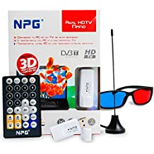 Npg Tech 30E40TV-HDTV-US30D0 - Sintonizador de televisión externo (DVB-T, USB, VGA, Direct X),