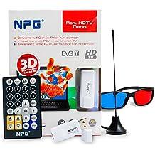 Npg Tech 30E40TV-HDTV-US30D0 - Sintonizador de televisión externo (DVB-T, USB, VGA, Direct X), blanco