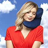 J-pillow Travel Pillow - Head, Chin and Neck Support - British Invention of the Year - Navy Bild 3