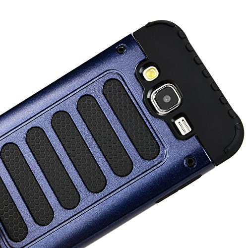 Coque iPhone 6 6S, HB-Int 3 en 1 Coque iPhone 6 6S (4.7 pouces) Housse Etui [Tough Armor] Ultra Fine Case Arrière Housse TPU Silicone Cover + [Protection Extreme] Rugged Slim Dual Layer Protective PC  Bleu