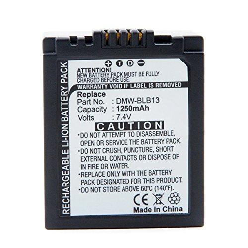 NX - Digitalkamera Akku 7.4V 1250mAh - DMW-BLB13 ; DMW-BLB13E