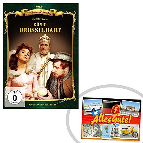 DVD König Drosselbart   INKL DDR Geschenkkarte   Ostprodukte   Ideal für jedes DDR Geschenkset   DDR Geschenk