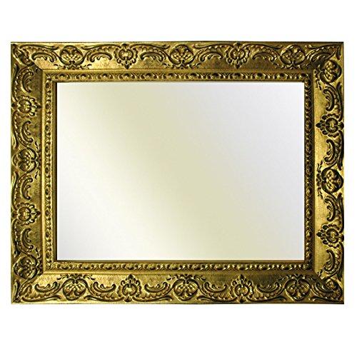 Neumann Bilderrahmen Barockrahmen Gold fein verziert 976 ORO, Spiegel 40x60 cm