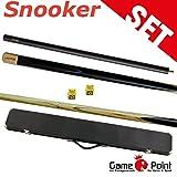 Snooker-Set: Snooker Queue Master mit Verlängerung und Koffer + 2 Snookerkreide Gratis
