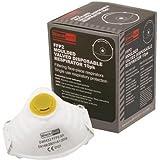 30x Blackrock jetable Vêtements de travail Epi poussière masques masques FFP2protection respiratoire P2