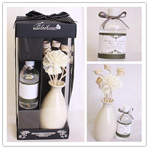 London Boutique Isabella 40028 Raumduft, ätherisches Öl, Duftstäbchen, mit Blütenmotiv,...