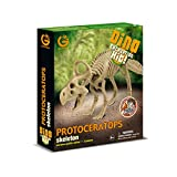 Geoworld CL746K - Dino Excavation Kit, Protoceratops Skeleton