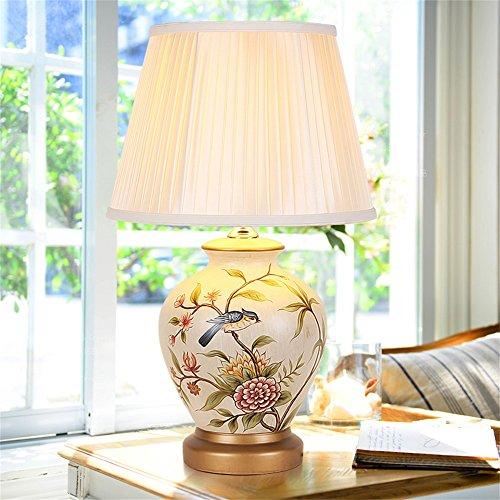 MEHE@ Mode Stilvoll Persönlichkeit kreativ Romantik Warm Chinesische Keramik Tischleuchte...