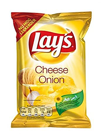 Lays Chips Cheese & Onion 80 x