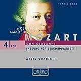 Mozart : Don Giovanni (version pour quatuor à cordes). Quatuor Artis.