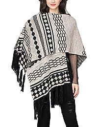 Amazon.fr   Beige - Châles   Echarpes et foulards   Vêtements 0d40c37b23d