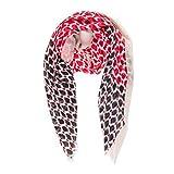 Melifluos Pañuelos Fular Foulard Mujer Bufandas Estampado Diseño Español 100% Viscosa (NF39-11)