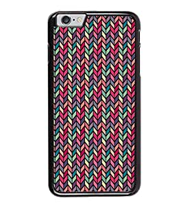 PrintVisa Colored Arrow Heads Pattern High Gloss Designer Back Case Cover for Apple iPhone 6