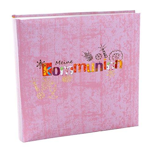 Goldbuch 03300 Kommunion Fotoalbum Marmor [60 S. weiss, 25x25, 4 illustr. Seiten]
