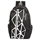 #8: Sassie Black & Gray Smart School Bag (21 Litres) (SSN-1033)