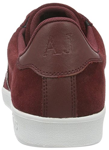 Armani Jeans 935565cc501, Sneakers basses homme Rouge (BORDEAUX PORT 06476)