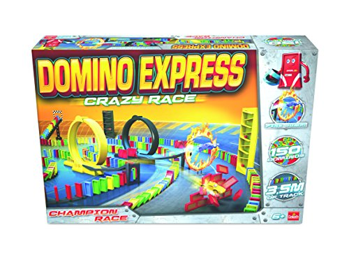 Preisvergleich Produktbild Goliath 81008 Domino Express Crazy Race, Spiel