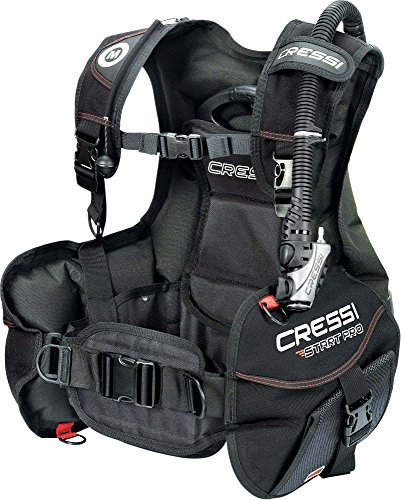 Cressi Start Pro Jacket Gav, Nero, M