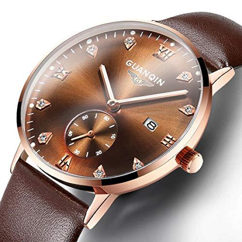 Orologi da polso Orologio da studente orologio ultra-sottile automatico impermeabile non meccanico da uomo-VS