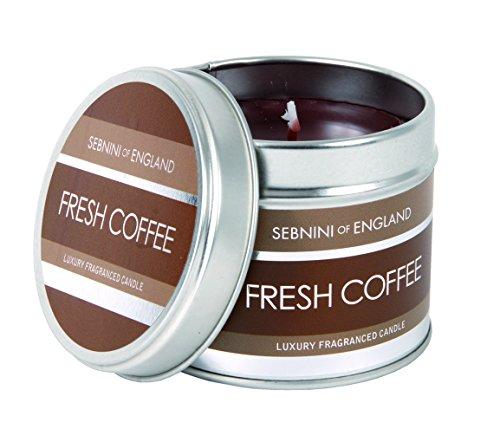 SEBNINI Standard Duftkerze in Dose, Duft Fresh Coffee (Standard Düfte)