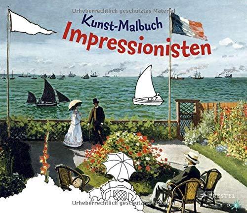 Kunst-Malbuch Impressionisten