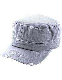 Army Cap im Used Look Kappe Mütze Schirmmütze in verschiedenen Farben Unisex Damen Herren One Sitze