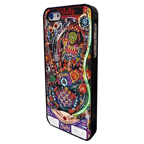 Cool Retro Arcade Pinball Bally design iphone 5 5S Coque arriere Coque Case